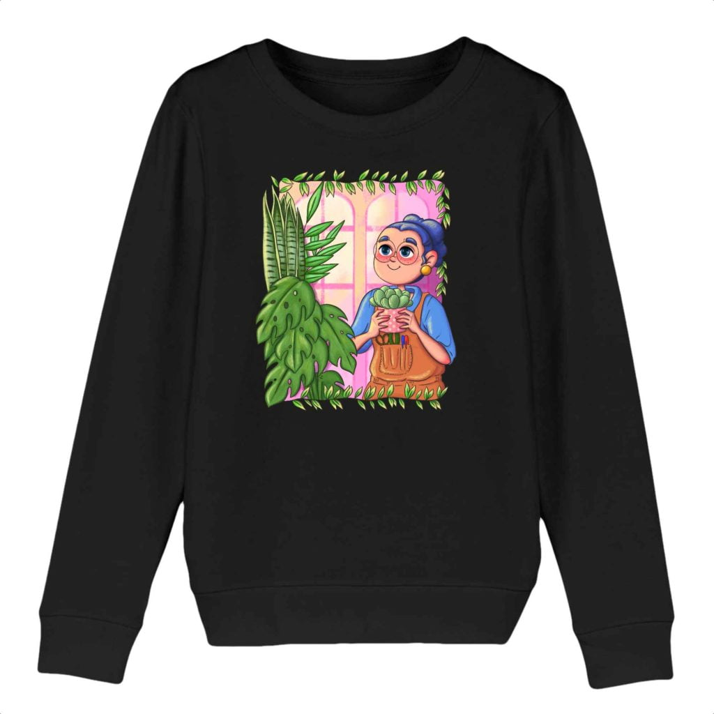 Plant Parent Organic Cotton Kids Crewneck Sweater
