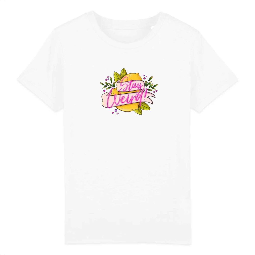 Stay Weird Organic Cotton Kids T-shirt