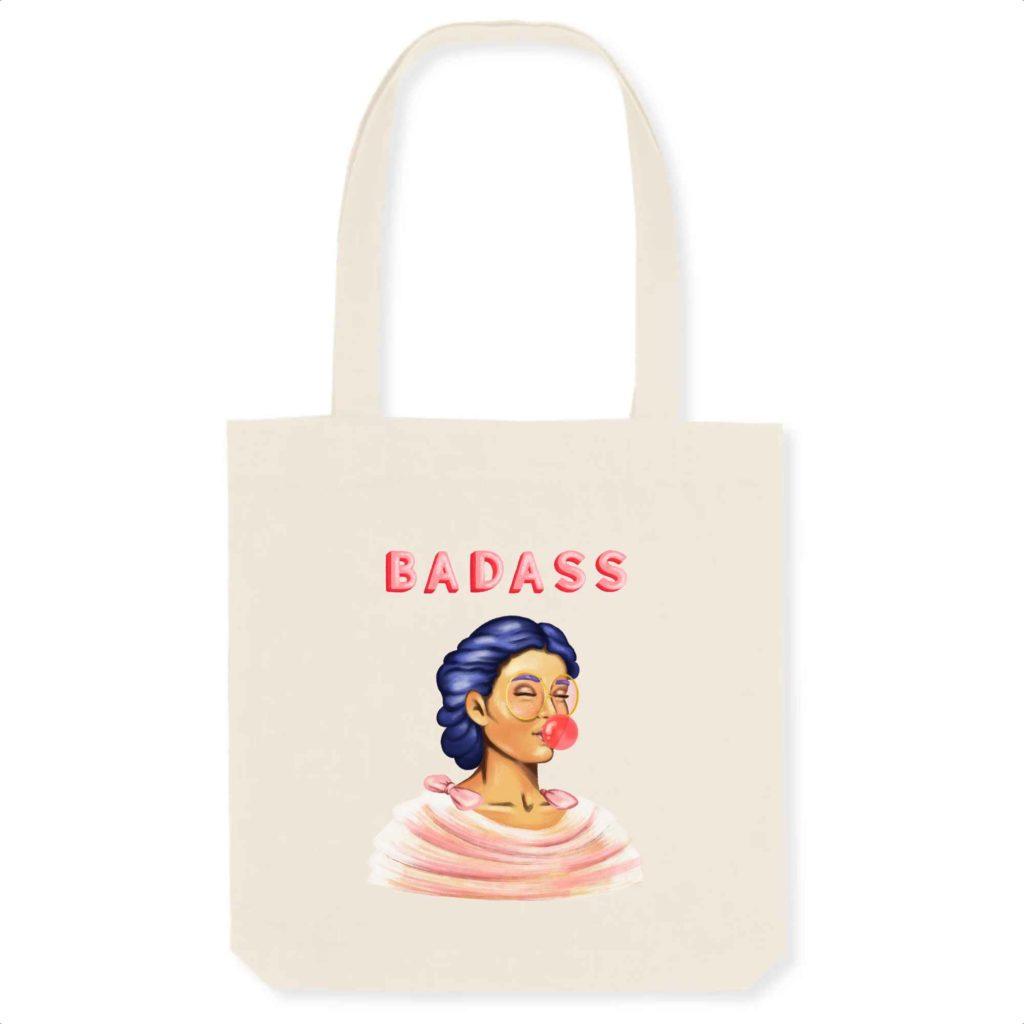 Badass Organic Tote Bag
