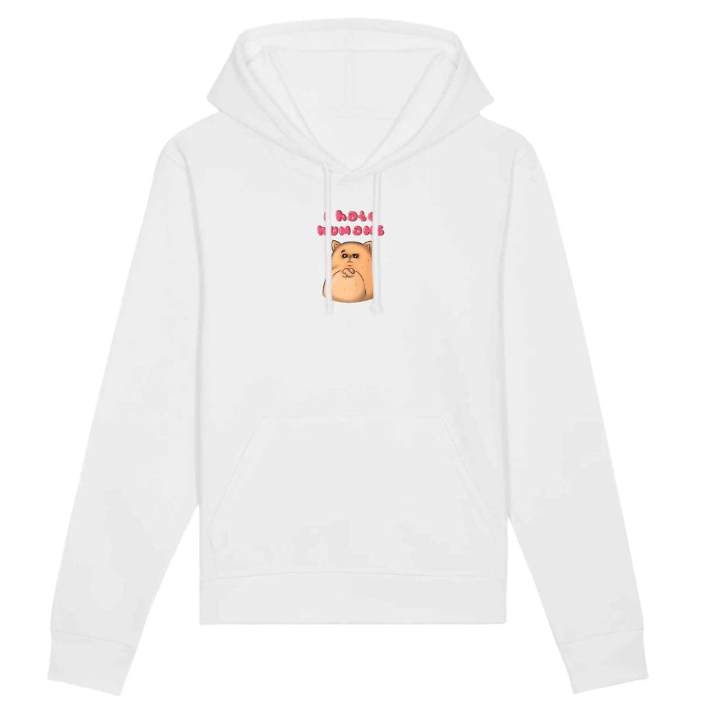 I Hate Humans Organic Cotton Unisex Hoodie