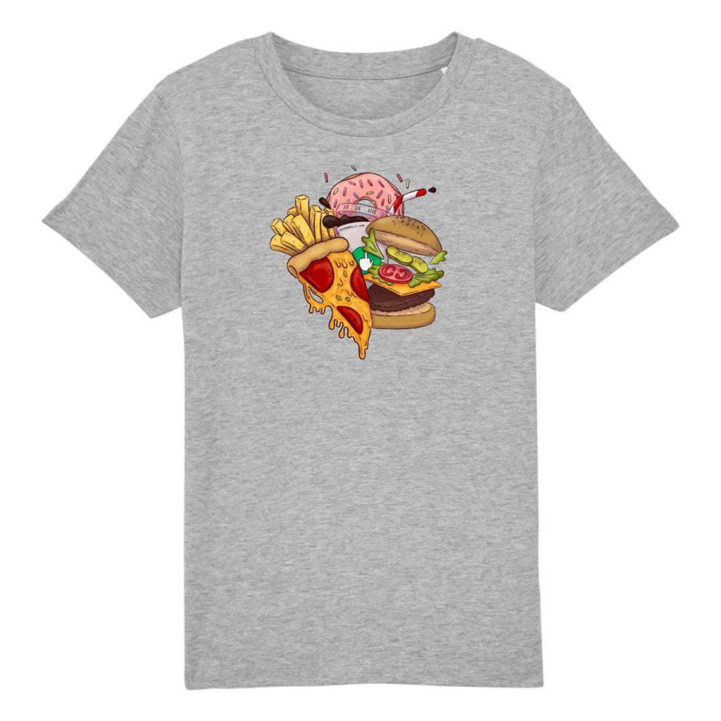Food Organic Cotton Kids T-shirt