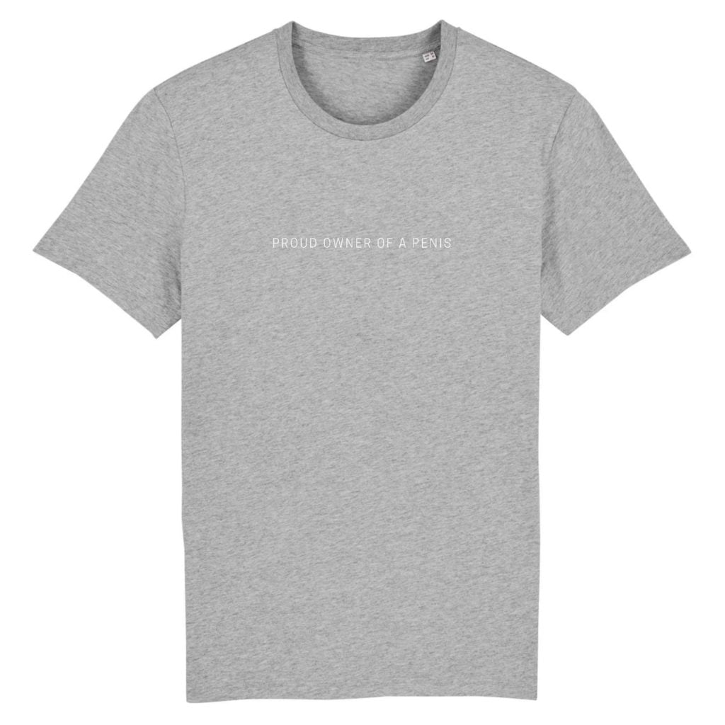Proud Owner of a Penis Organic Cotton Unisex T-shirt