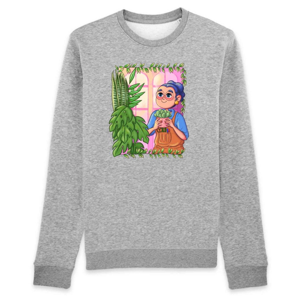 Plant Parent Organic Cotton Unisex Crewneck Sweater