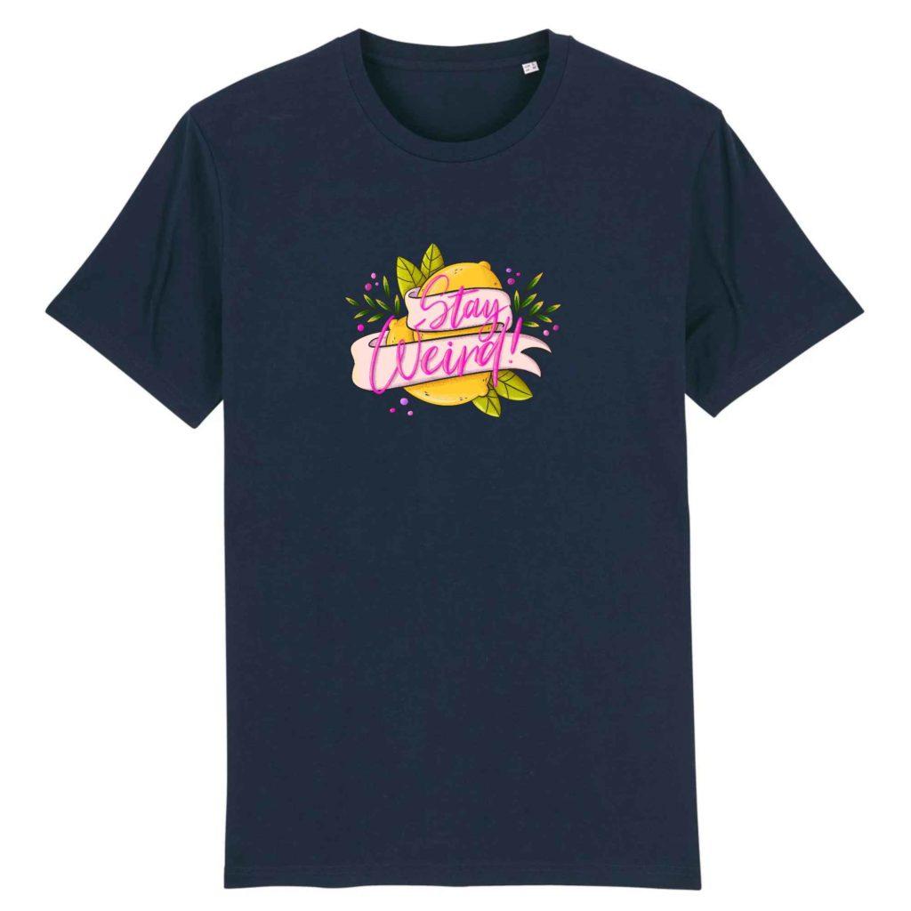 Stay Weird Organic Cotton Unisex T-shirt