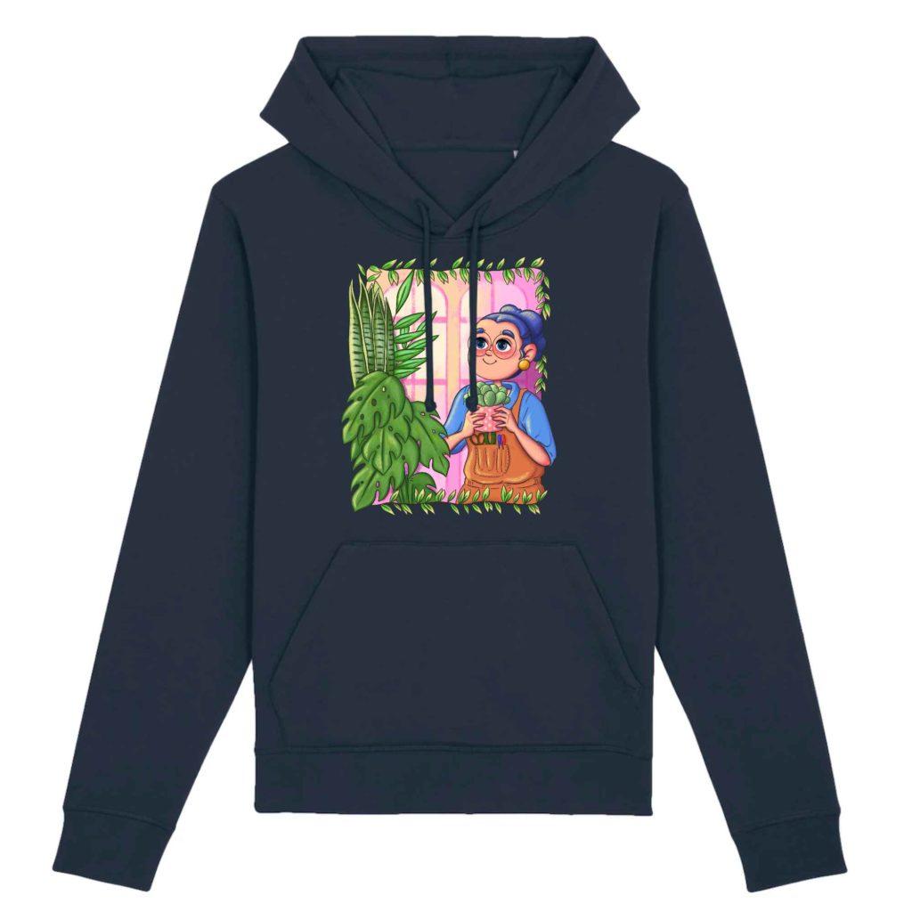 Plant Parent Organic Cotton Unisex Hoodie