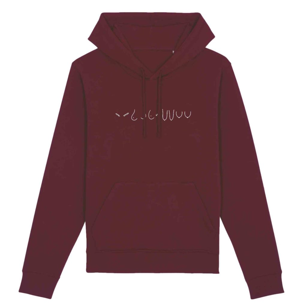 All The Boobies Organic Cotton Unisex Hoodie
