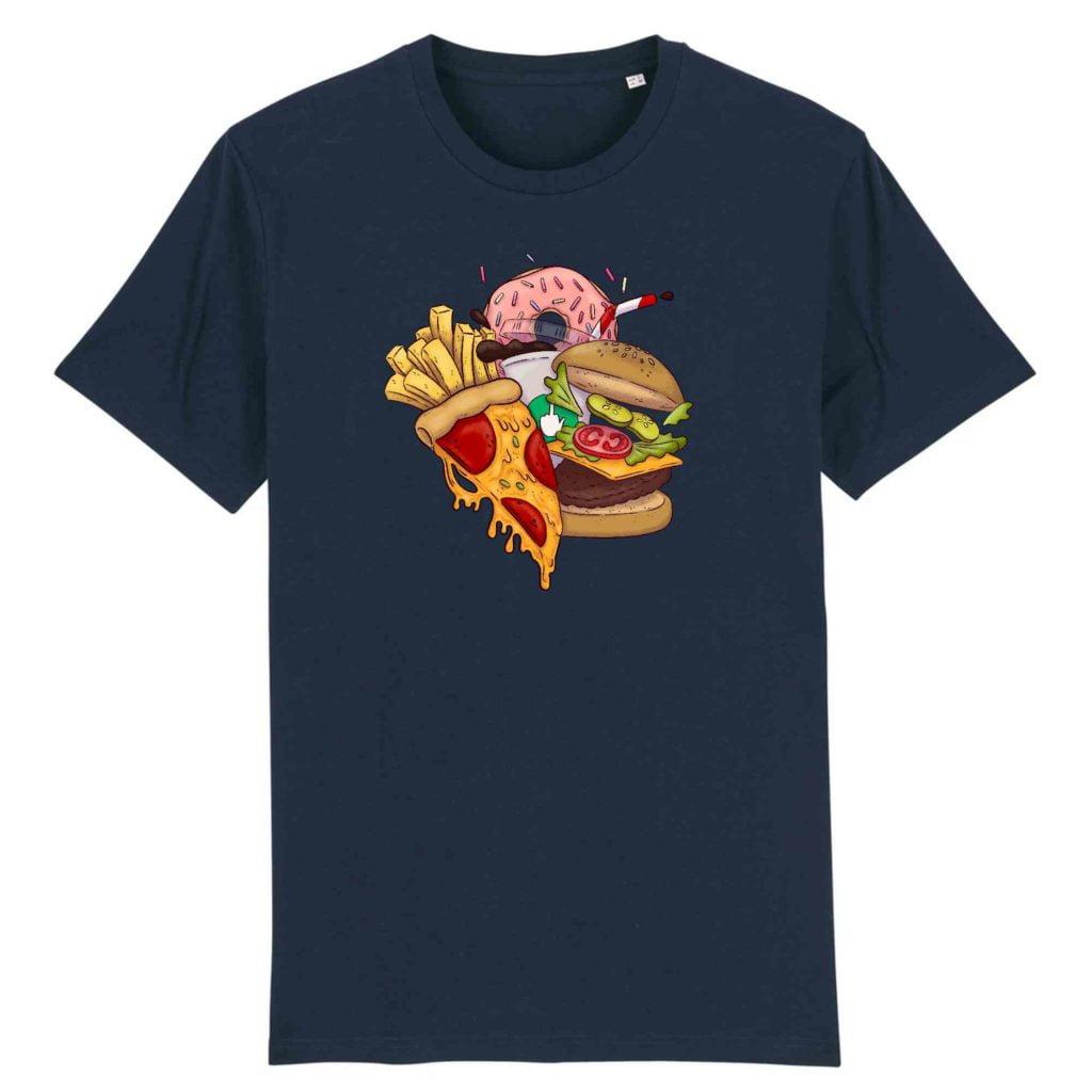 Food Organic Cotton Unisex T-shirt