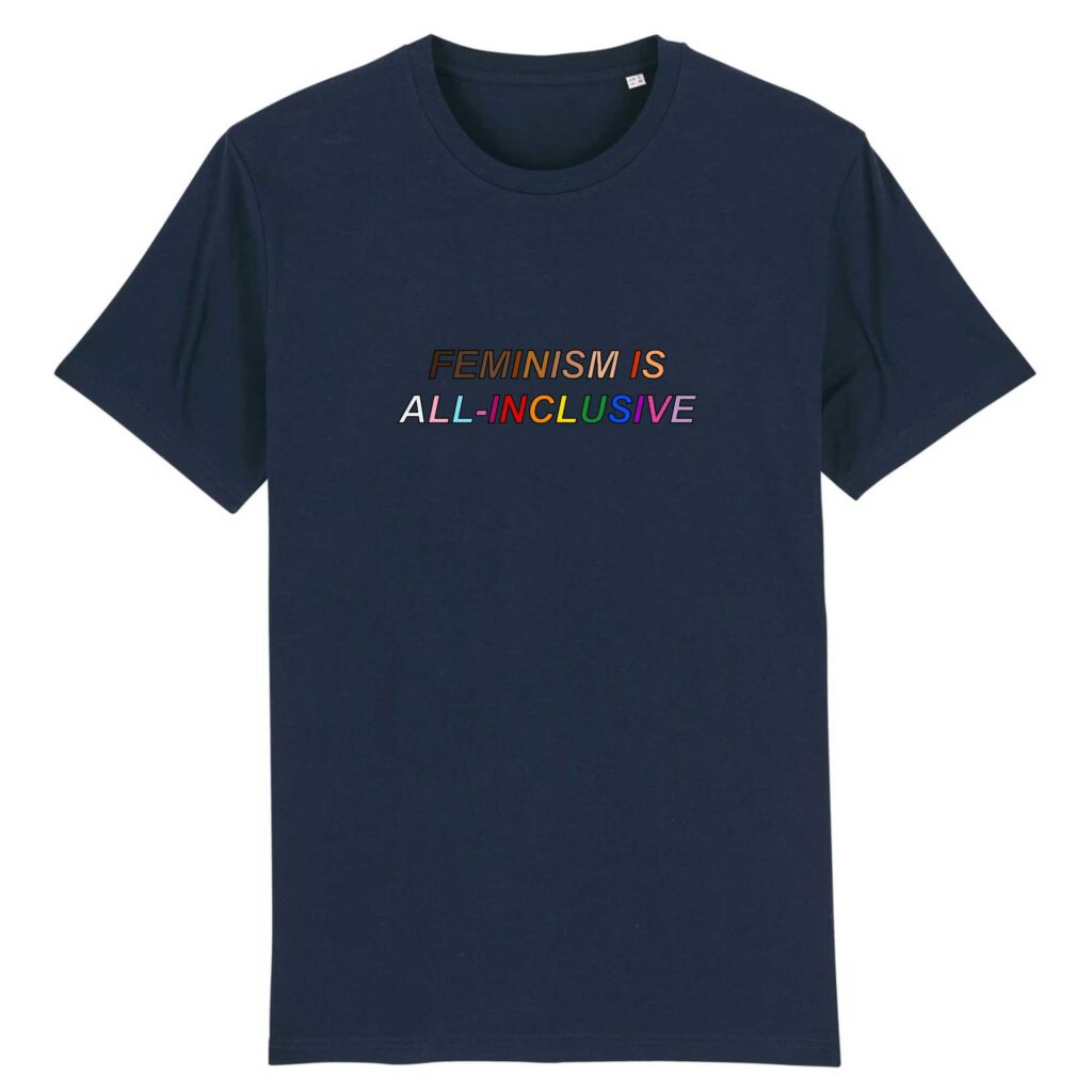 Feminism is All-Inclusive Organic Tshirt