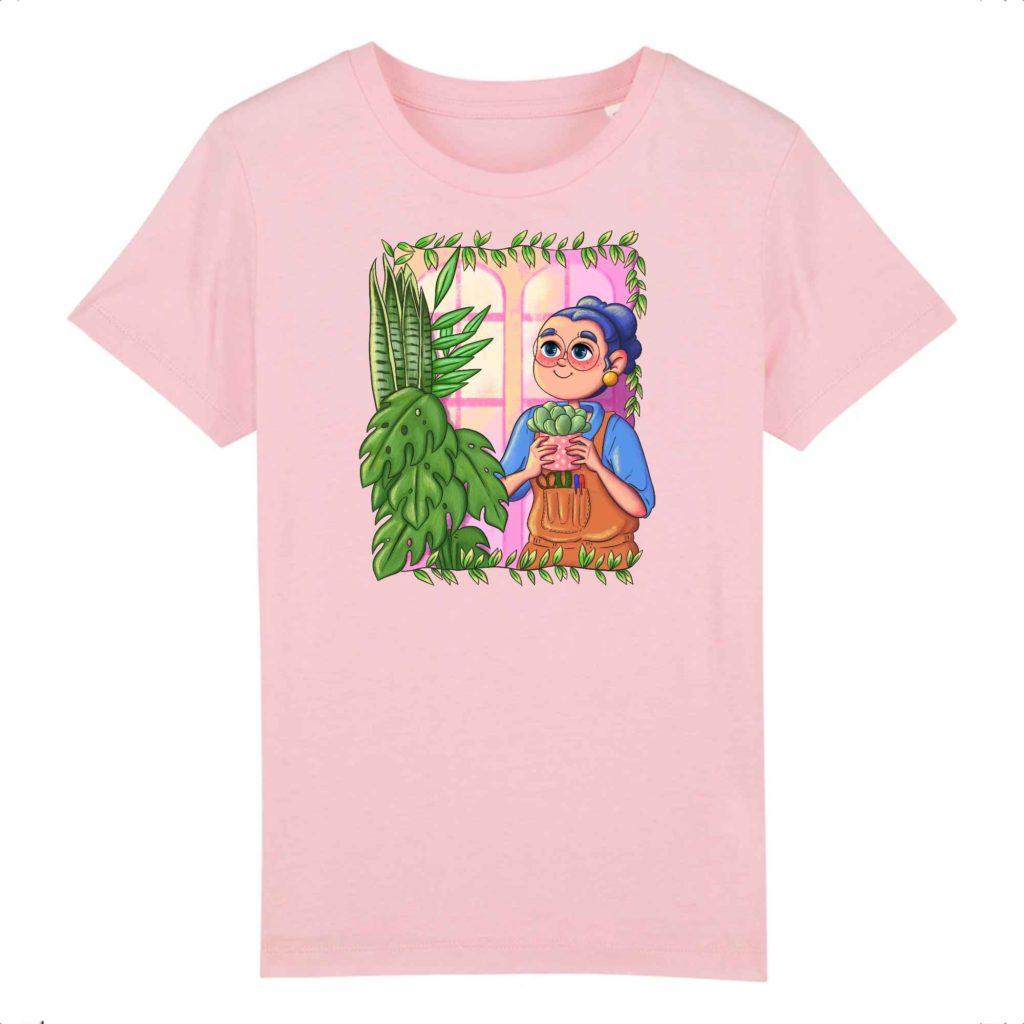 Plant Parent Organic Cotton Kids T-shirt
