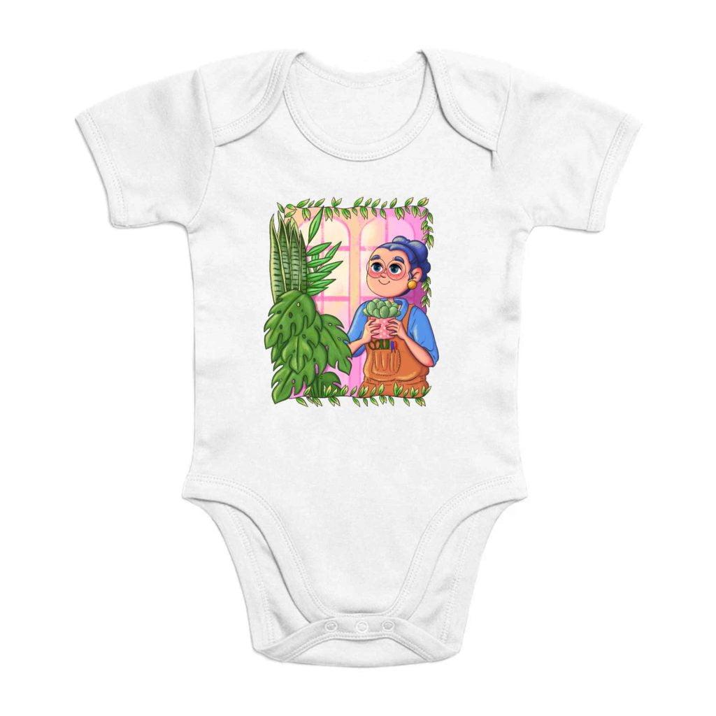 Plant Parent Organic Cotton Baby Romper